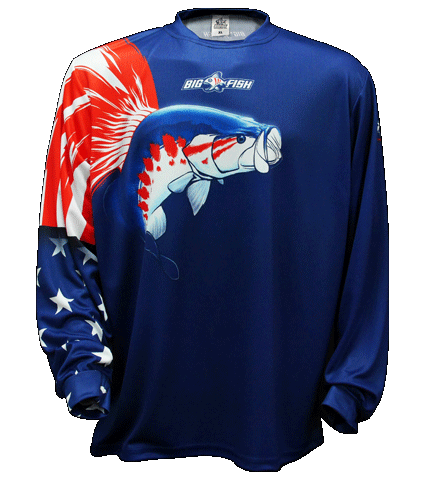 American Pride Bass Navy