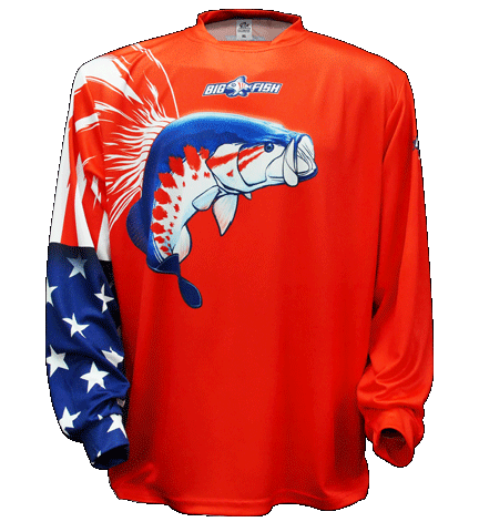 American Pride Bass Red