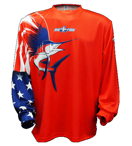 American Pride Sailfish Red