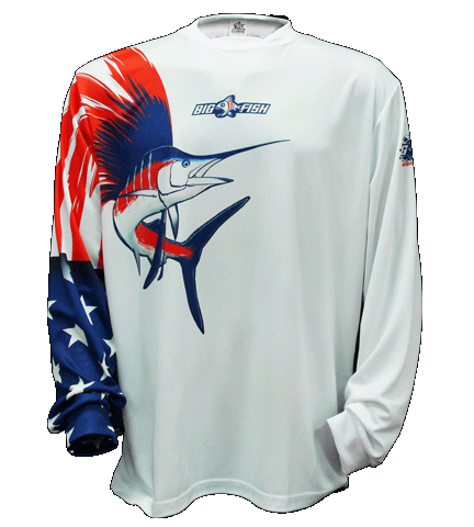 American Pride Sailfish White