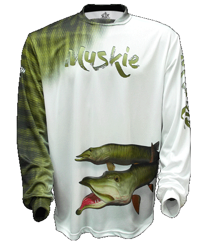 Muskie Scales - White