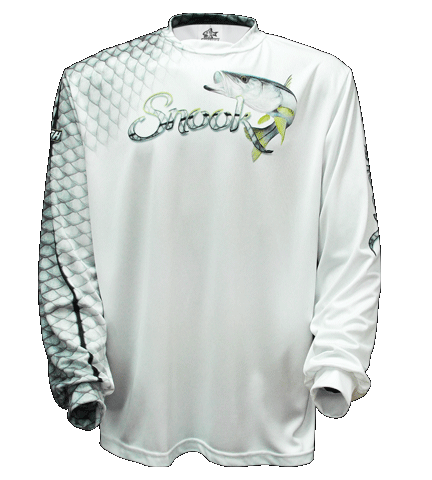 Snook Scales - White